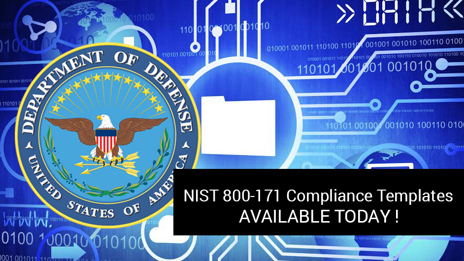 nist-800-171-compliance-templates