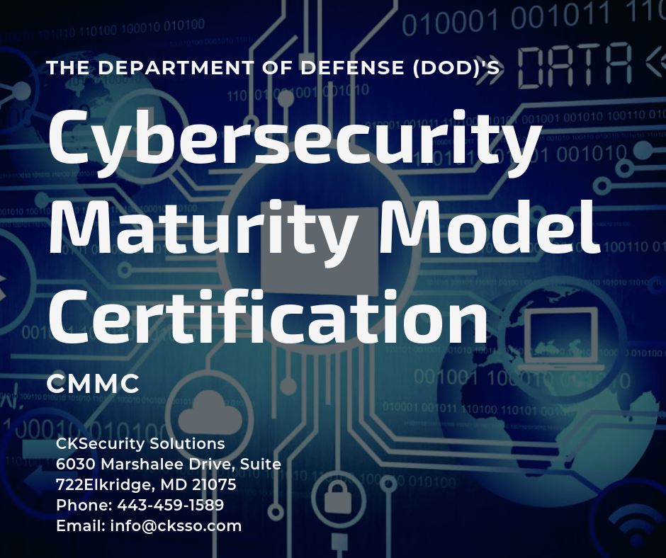 Cybersecurity Maturity Model Certification